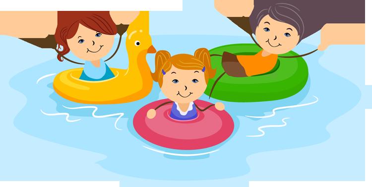 Fun Swiming Clipart - Clipart Kid