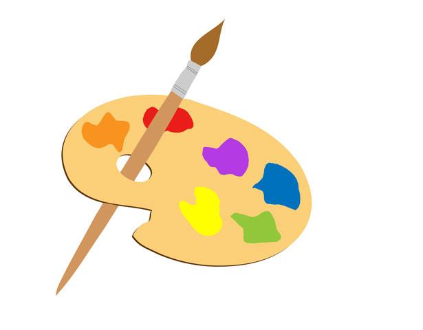 Artist Paint Brush Clip Art   Clipart Panda   Free Clipart Images