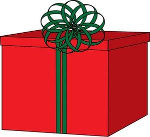 Christmas Gift Box Clipart - Clipart Kid