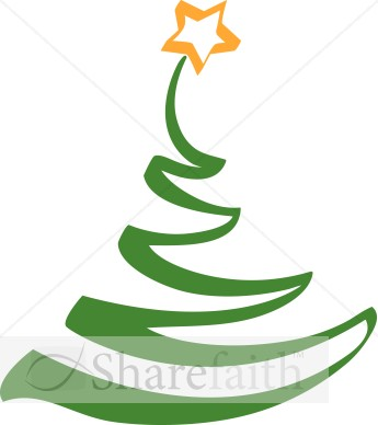 Artistic Christmas Tree Clipart - Clipart Kid