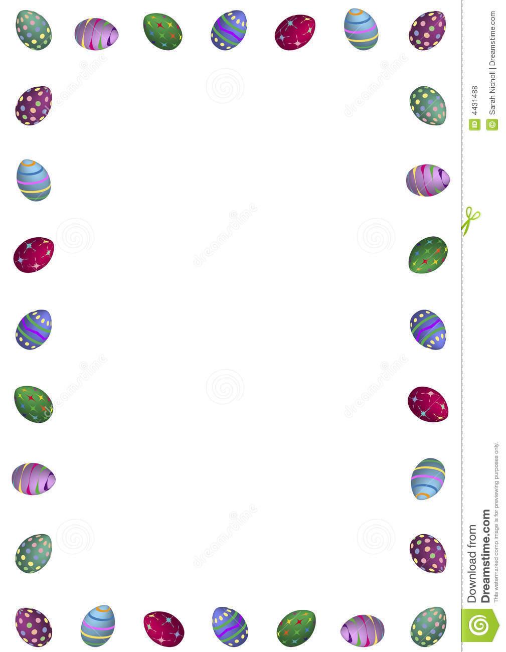 Easter Egg Border Clipart Modern Easter Egg Border #FUG4Dg ...