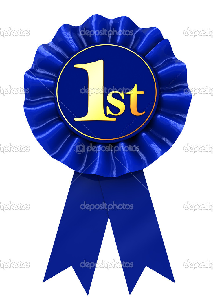 First Place Ribbon   Stock Photo   Mmaxer  4587094