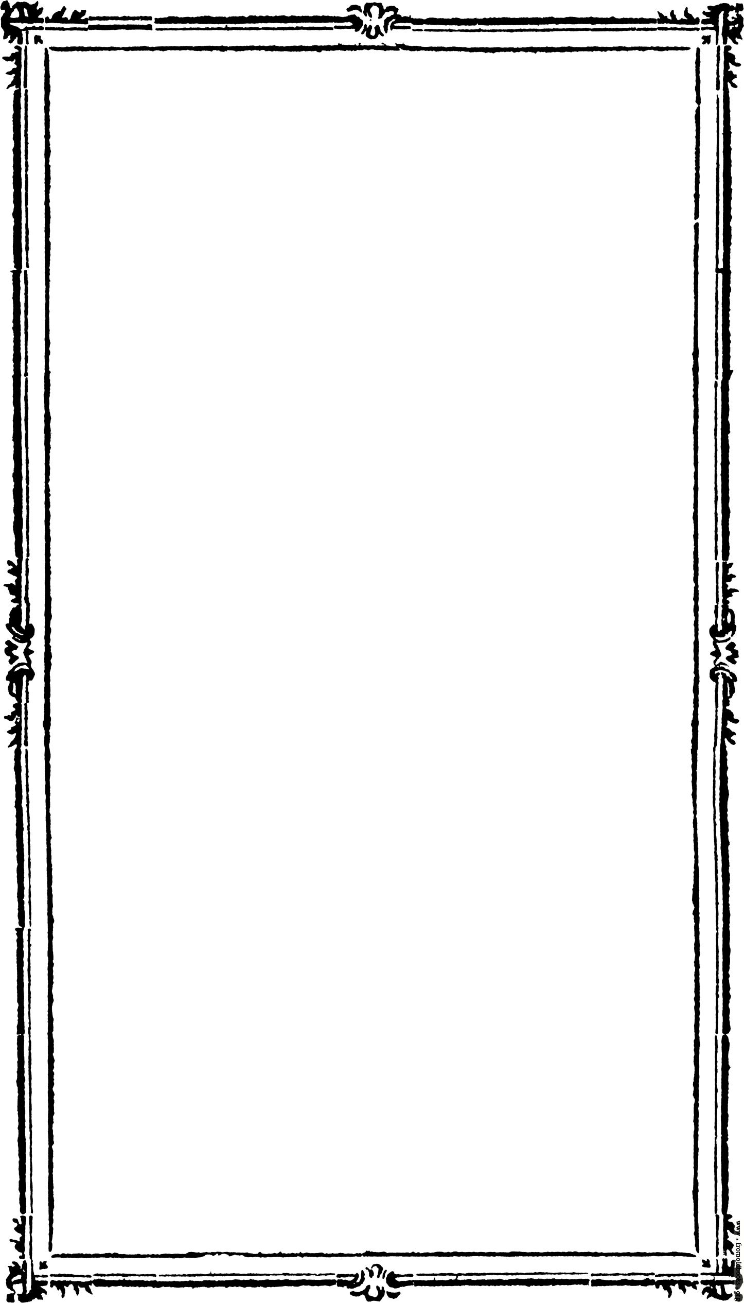 Modern frame clipart