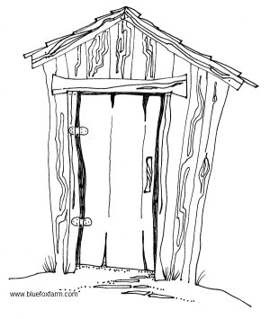 Hillbilly Clipart  Rustic Pictures Shacks   Primitive Art