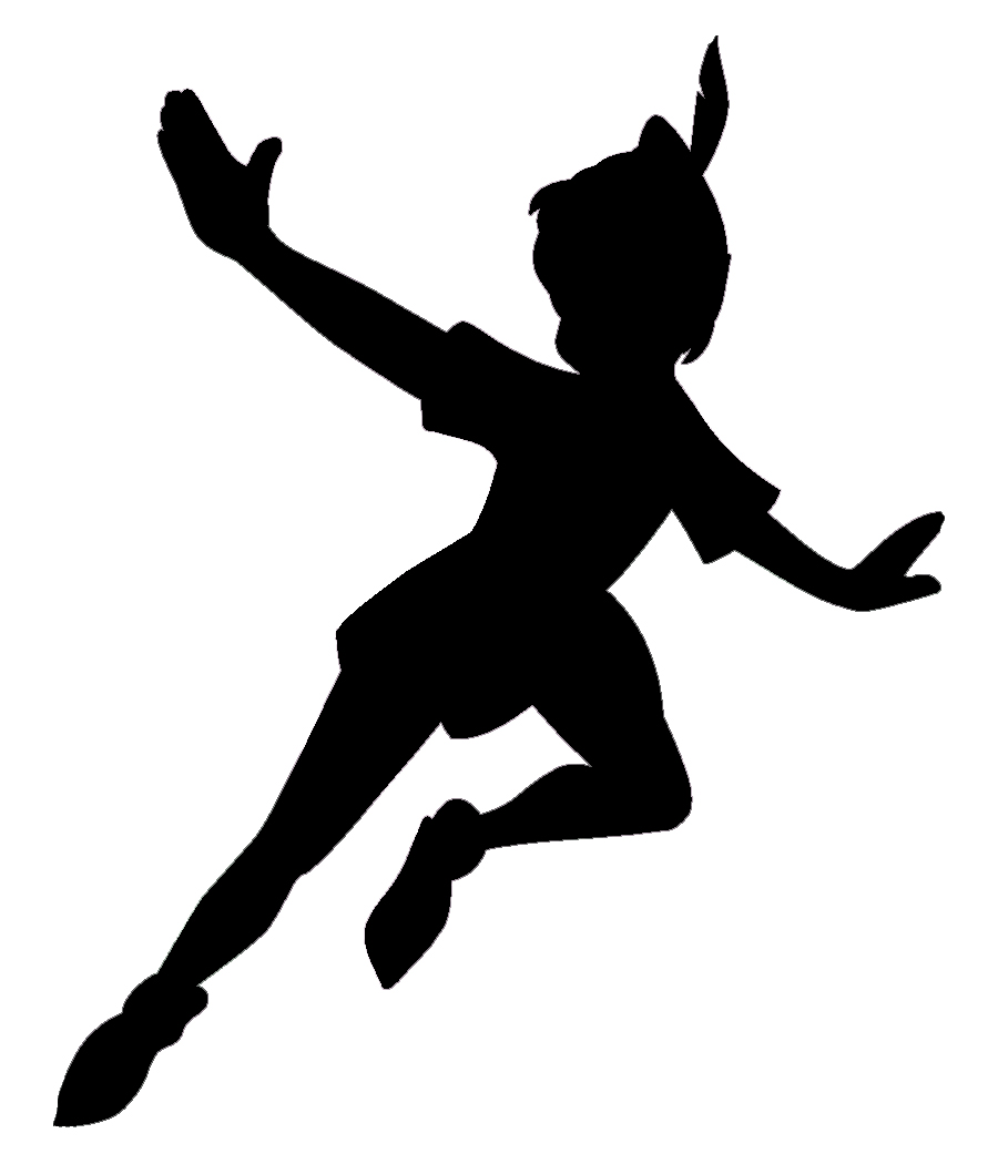 Http   Spoonful Com Printables Peter Pan Silhouette Wall Decorations