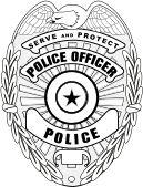 Image  Police   Law Enforcement Clip Art   Eagle Top Badge
