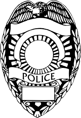 Police Badge Outline