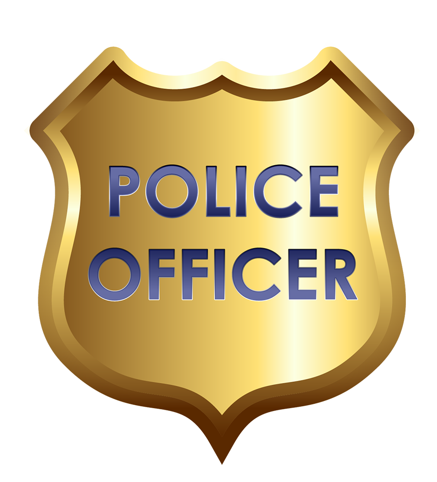 Cop Badge Clipart - Clipart Kid
