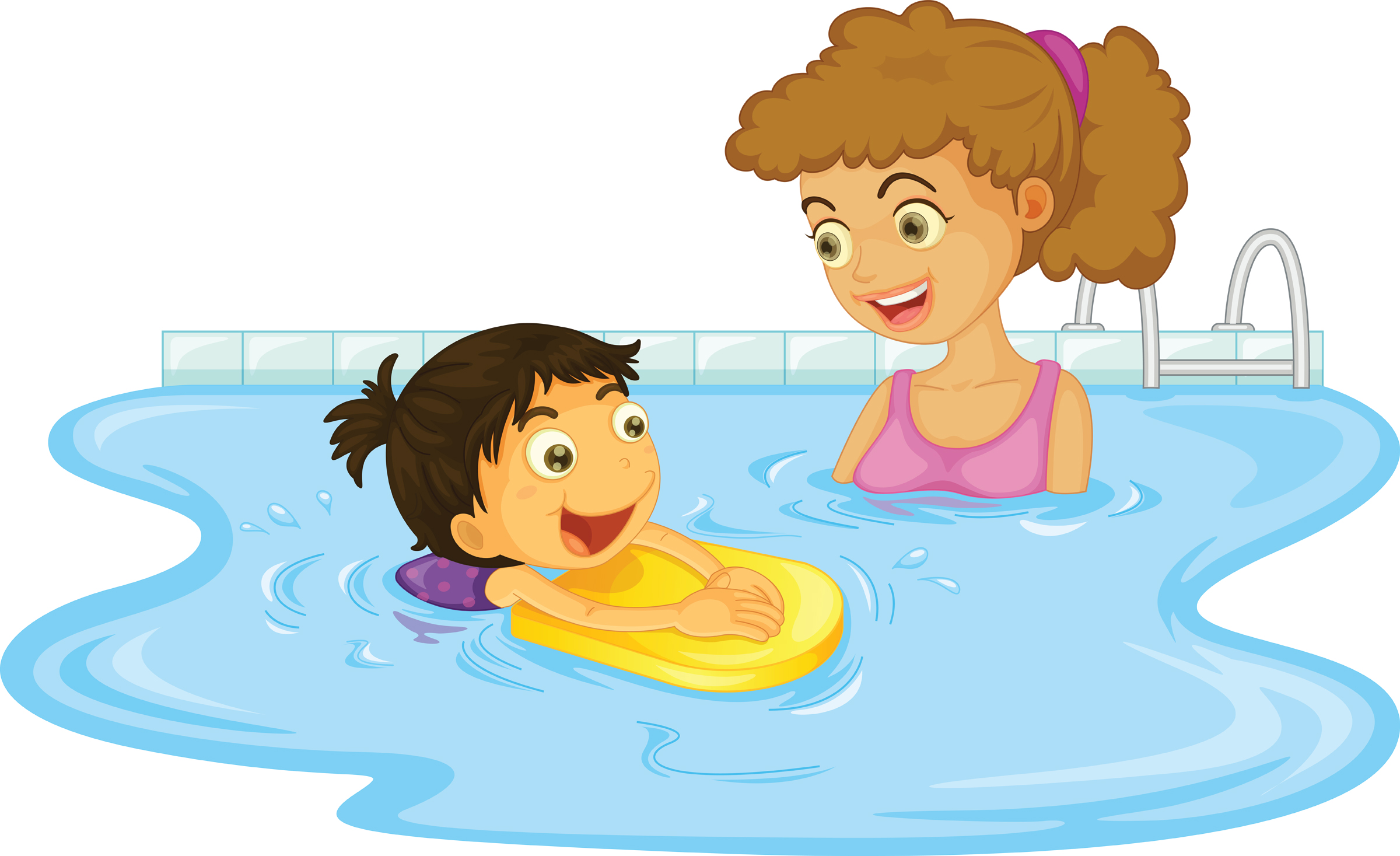 Swimming Safety Clip Art