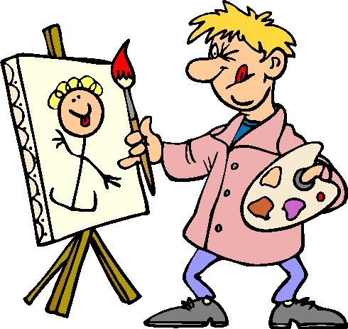Artist Painter Clip Art