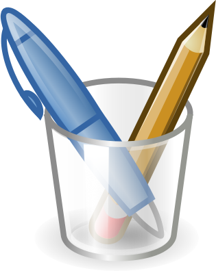 Writing Instruments   Http   Www Wpclipart Com Education Supplies