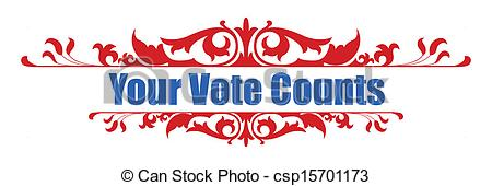 Your Vote Counts      Csp15701173   Search Clipart Illustration
