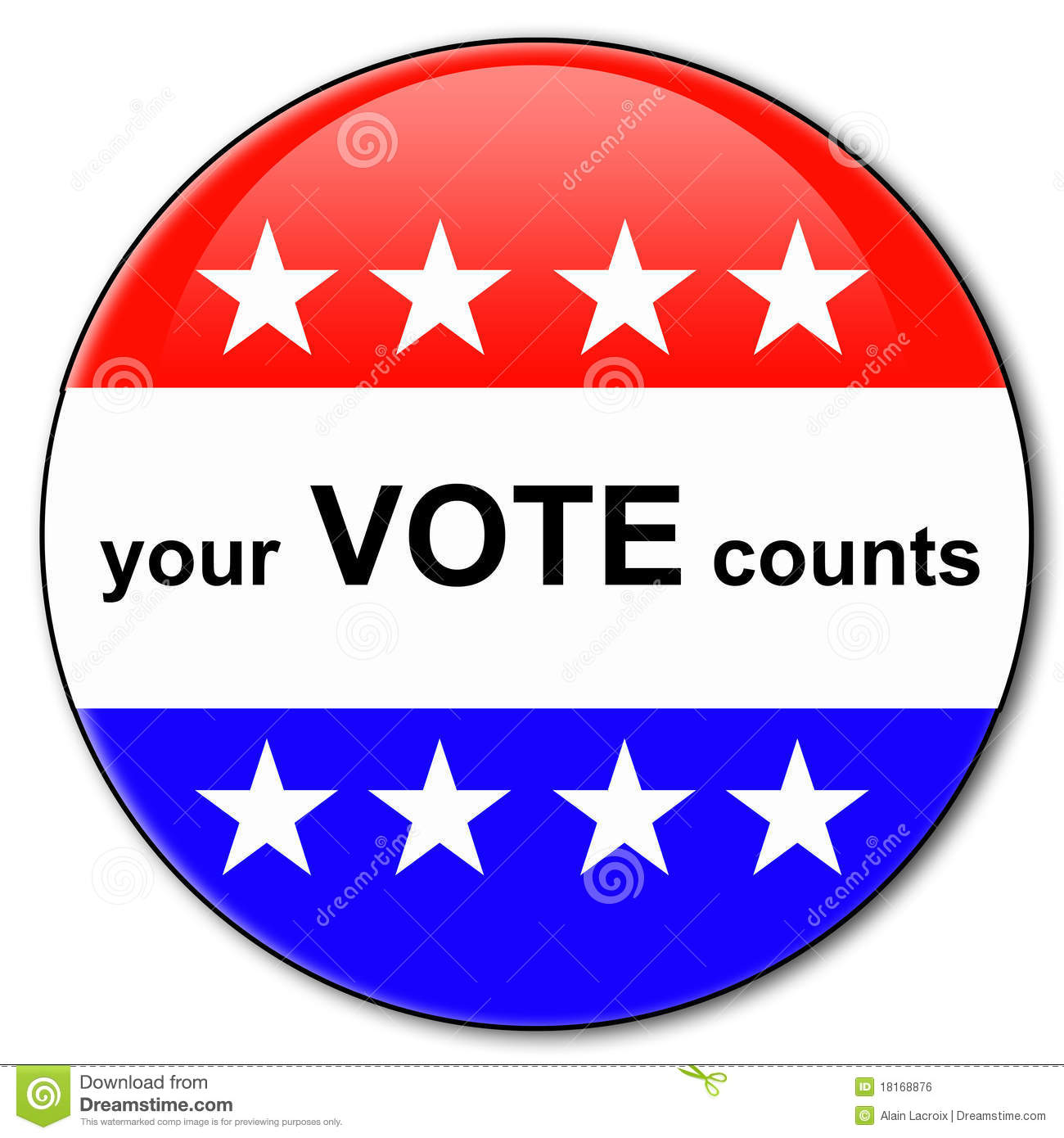 Your Vote Counts Royalty Free Stock Image   Image  18168876