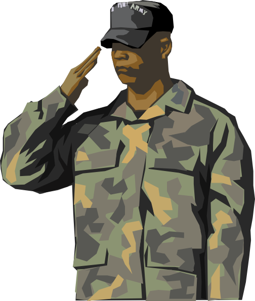 Clip Art Soldier Clip Art soldier saluting clipart kid army this clip art of an army