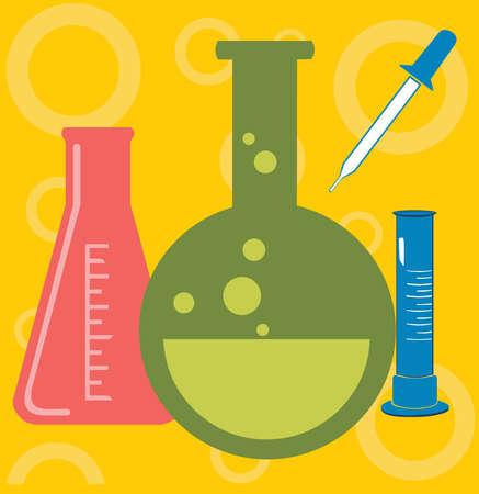Art Work Artistic Beaker Biological Biology Cartoon Close Up ...