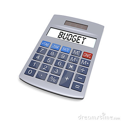 Budget Calculator Royalty Free Stock Image   Image  23534056