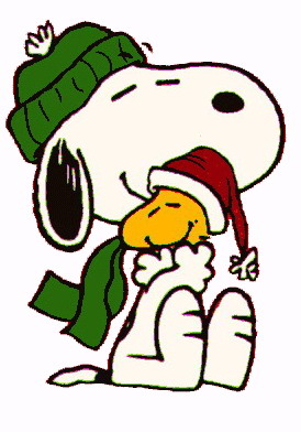 Snoopy Christmas Clipart - Clipart Kid
