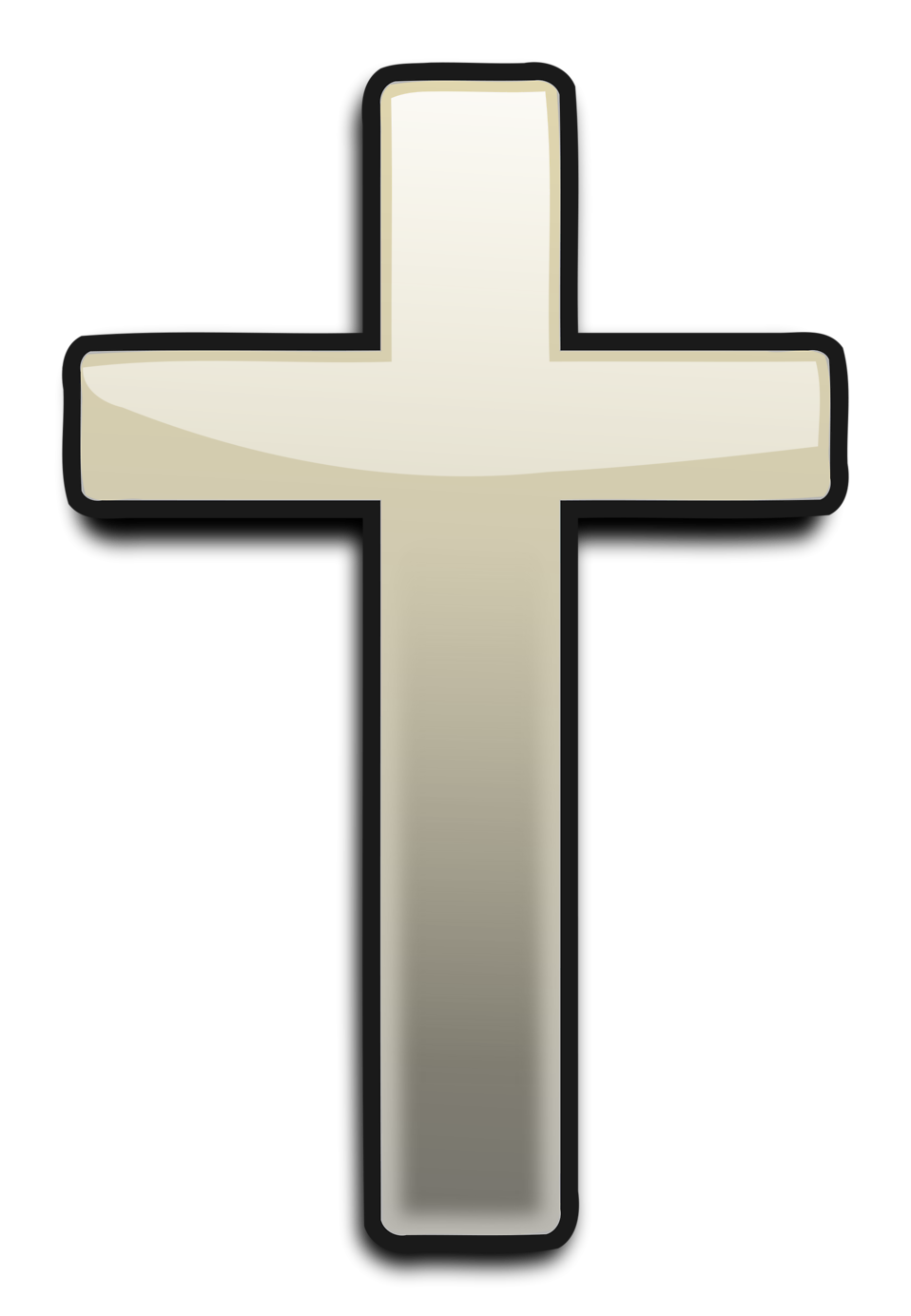 Cross   Free Stock Photo   Illustration Of A White Cross     16546