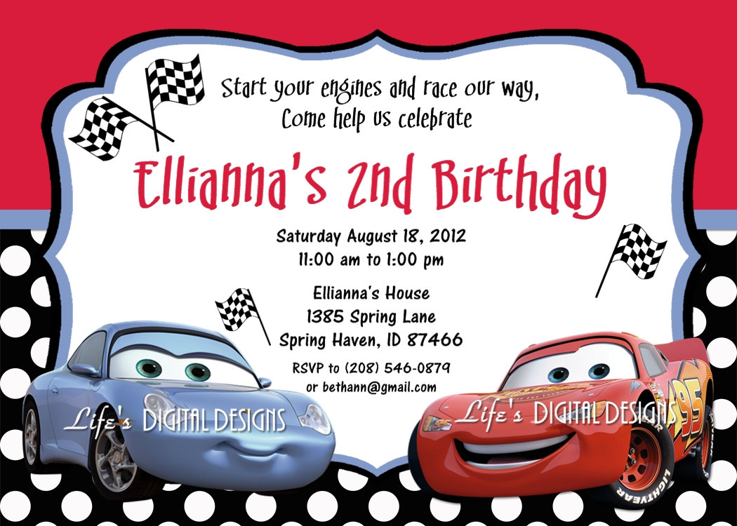 invite disney cars clipart clipart kid disney cars birthday invitations disney cars sally invitation