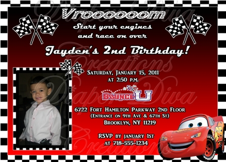 invite disney cars clipart  clipart kid, Birthday invitations