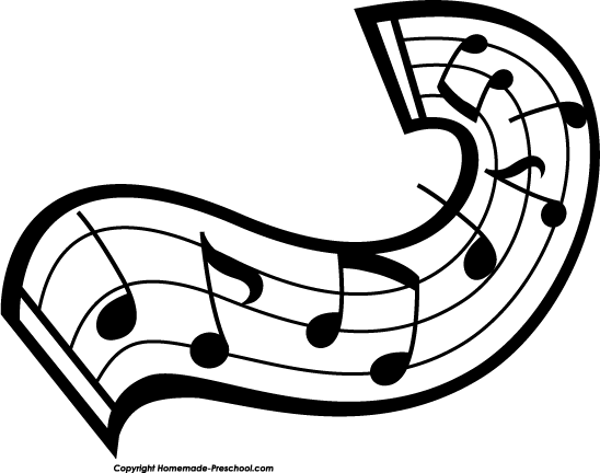 Home   Free Clipart   Music Notes Clipart   Music Notes Swirl