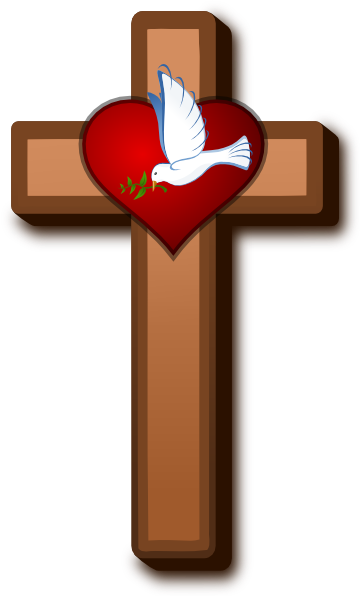 Love At Holy Cross 2 Clip Art At Clker Com   Vector Clip Art Online