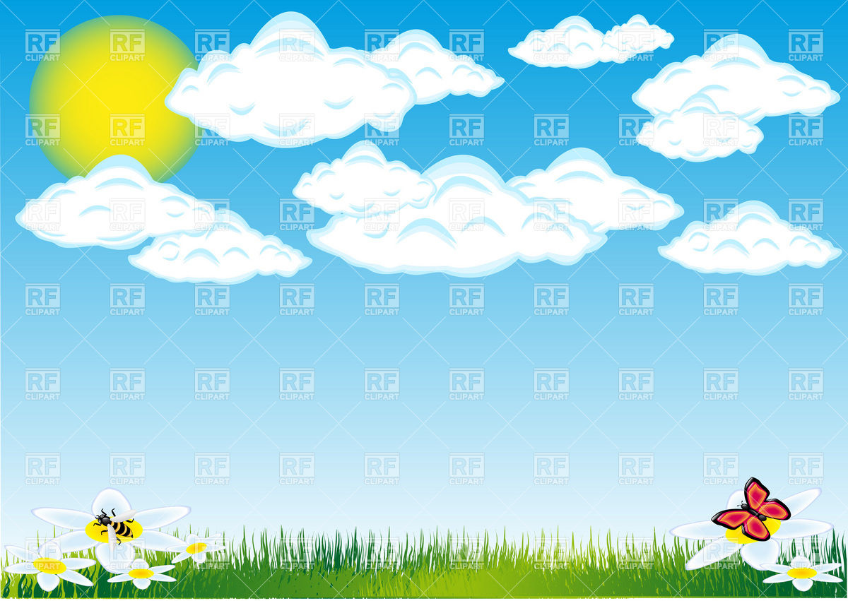 Nature   Cloud Sun And Grass Summer Landscape 19590 Backgrounds