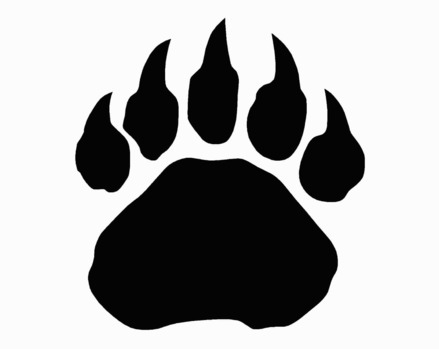 Wolverine Paw Print Clipart - Clipart Kid