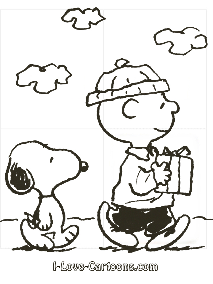 Charlie Brown Clipart Black And White charlie brown characters black
