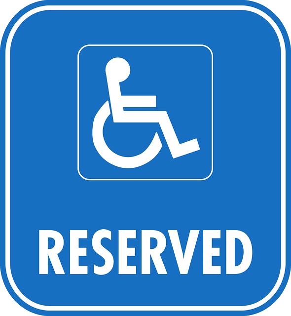 Reserved Sign Car Park Parking Wheelchair #kFAZ0k - Clipart Kid