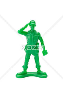 Saluting Toy Soldier   Royalty Free Image Id 24767881