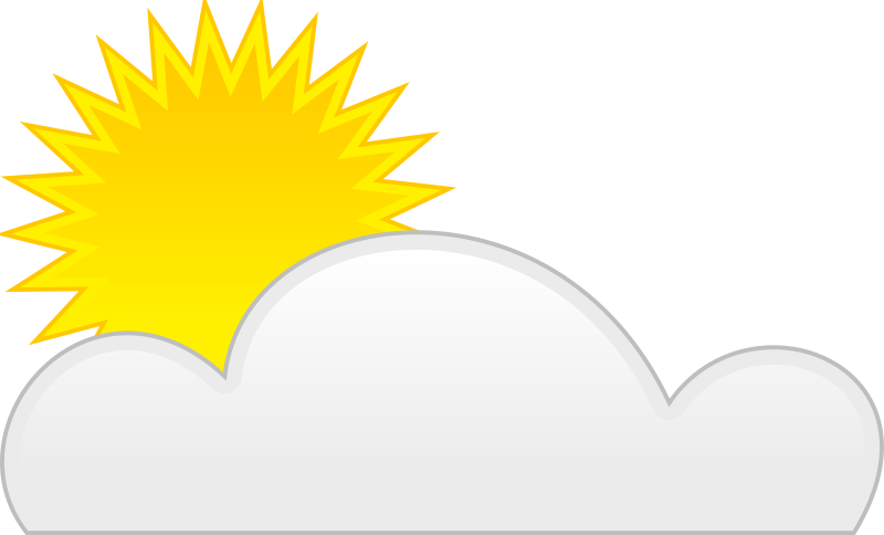 Sun Cloud By Spite   For Weather Application Or Map