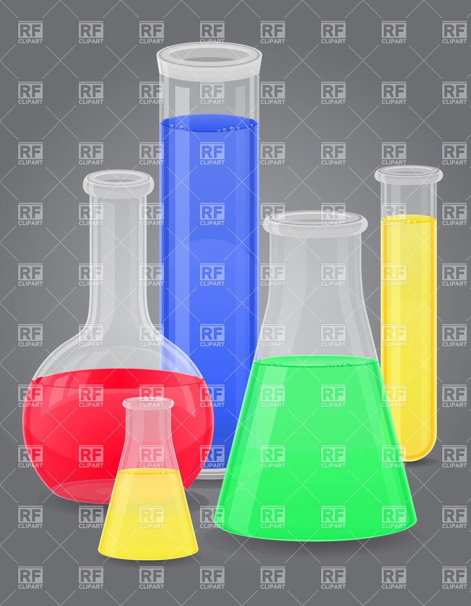 3 Science Test Tubes Clipart - Clipart Kid