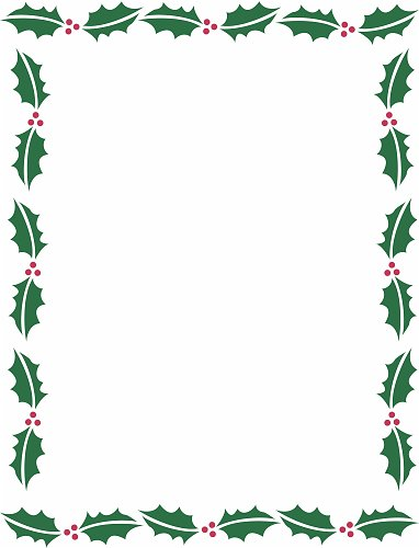 14 Microsoft Word Christmas Borders   Free Cliparts That You Can