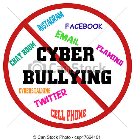 Bullying   Put A Stop To Cyber Bullying Csp17664101   Search Clipart