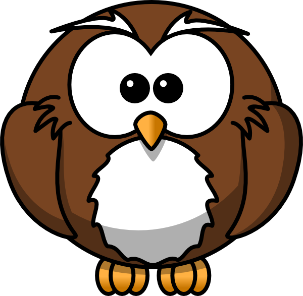 Cartoon Owl Clip Art At Clker Com   Vector Clip Art Online Royalty