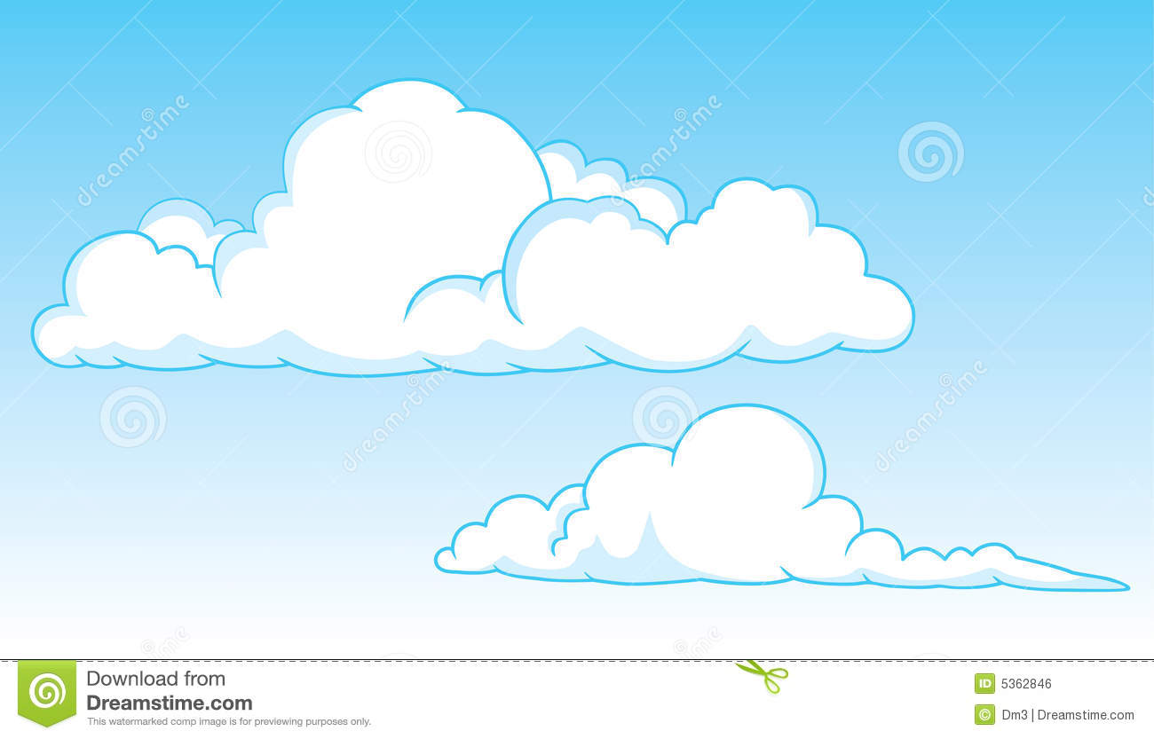 Stratus Cloud Clipart - Clipart Kid