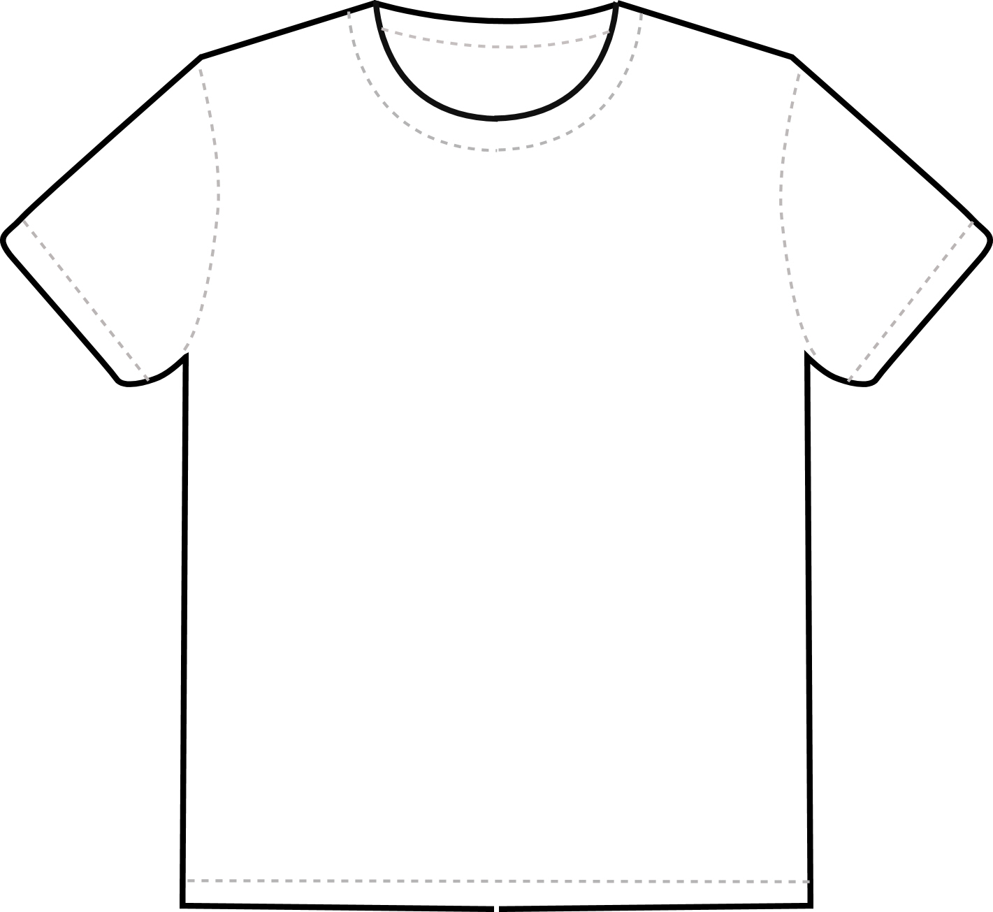 Design The T Shirt Using This Template To Help You  It Must Include