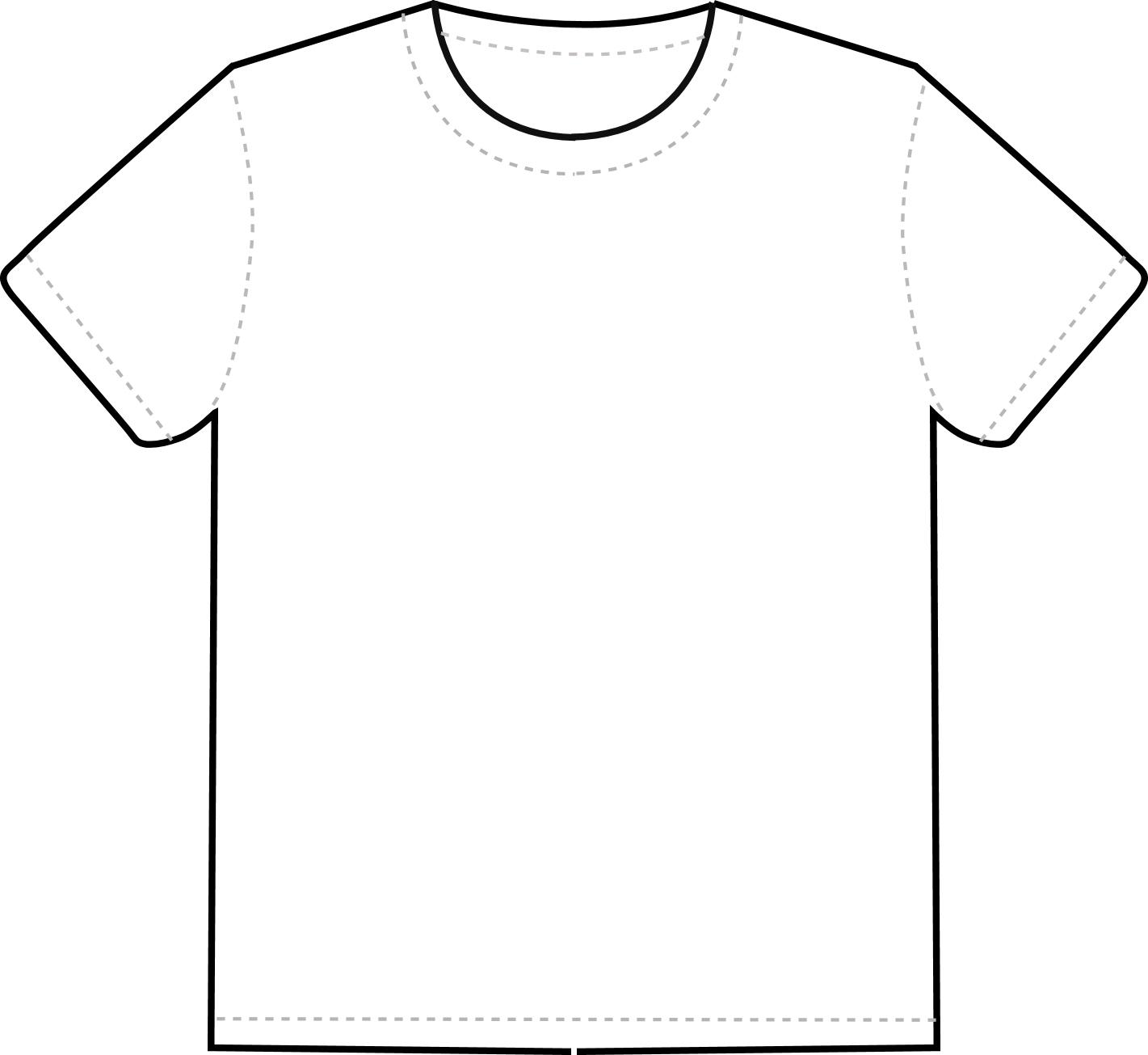t shirt template clipart clipart suggest. Black Bedroom Furniture Sets. Home Design Ideas