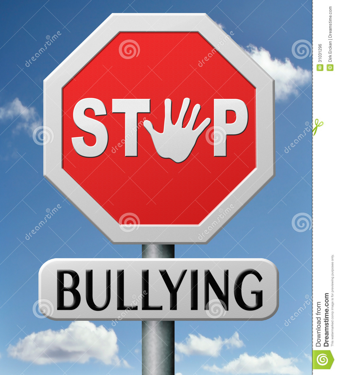 Free School Clipart Bullying Stop Bullying No School Bully Royalty