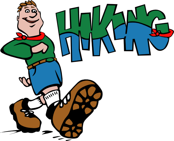 Hiker Animated Clipart - Clipart Kid