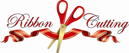 Ribbon cutting ceremony clipart