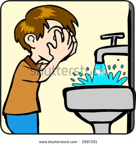 Clip Art Wash Face Clipart - Clipart Kid