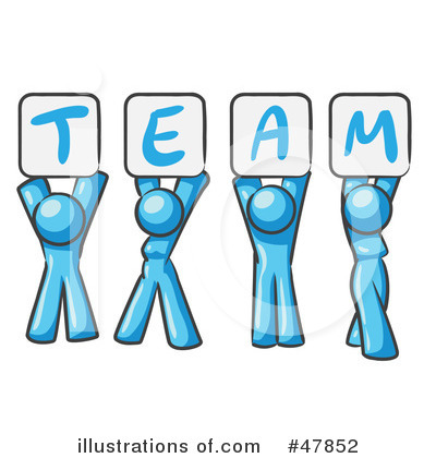 Team Clipart  47852 By Leo Blanchette   Royalty Free  Rf  Stock