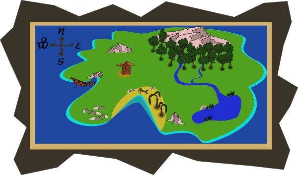 Treasure Map X Clipart - Clipart Suggest