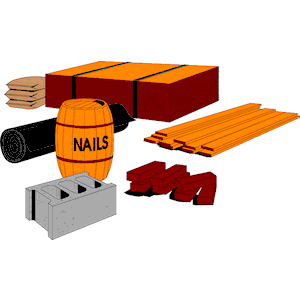 Building Materials 02 Clipart Cliparts Of Building Materials 02 Free