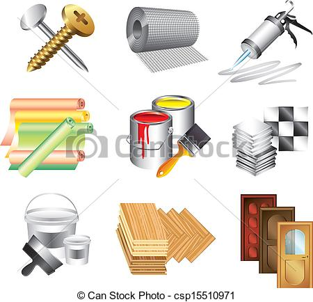 Materials And    Csp15510971   Search Clipart Illustration Drawings