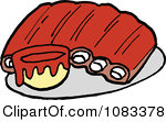 Royalty Free  Rf  Bbq Sauce Clipart   Illustrations  1