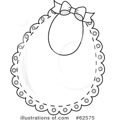 Royalty Free  Rf  Bib Clipart Illustration By Pams Clipart   Stock