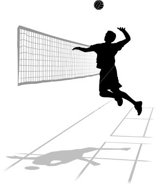 Volleyball Spike Clipart   Clipart Panda   Free Clipart Images